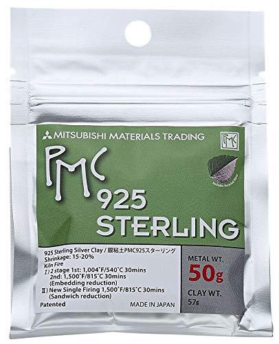PMC Sterling Silver Clay - 50 Grams