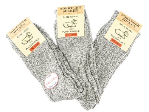 SOUNON 6 Paar Herren Norweger Socken (93220) - Original, Groesse: 39-42