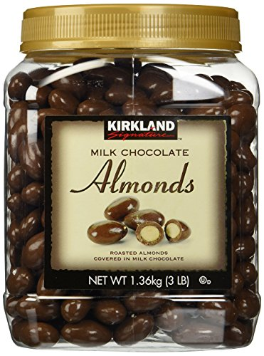 Kirkland Signature Milk Chocolate Almonds, Set of 2