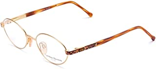 Carolina Herrera (CH) New York Frame for Unisex Gold Plated/Havana CH701-GP656-51-18-135