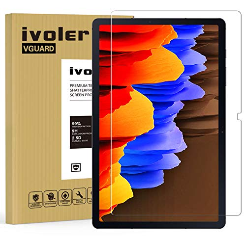 iVoler Pellicola Vetro Temperato per Samsung Galaxy Tab S7 Fe 5G e Samsung Galaxy Tab S7+ e Samsung Galaxy Tab S7 Plus 12.4 Pollici (T970   T976B), Pellicola Protettiva Protezione per Schermo