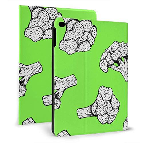 Ipad Cover For Girls Little Green Broccoli Pretty Health Ipad Kids Case For Ipad Mini 4/mini 5/2018 6th/2017 5th/air/air 2 With Auto Wake/sleep Magnetic 9.7 Ipad Case