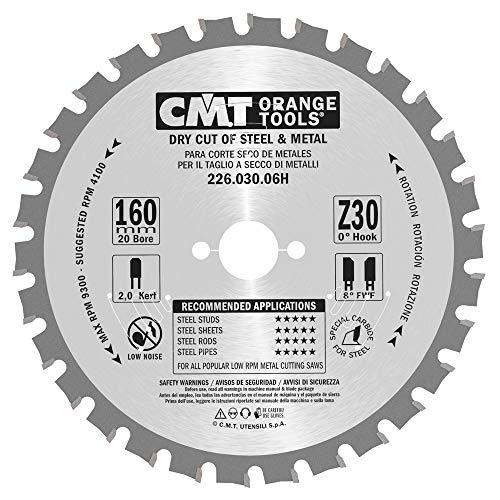 CMT Orange Tools 226,030,06H Scie circulaire pour métaux 160 x 60 30 x 1,5 z tcg