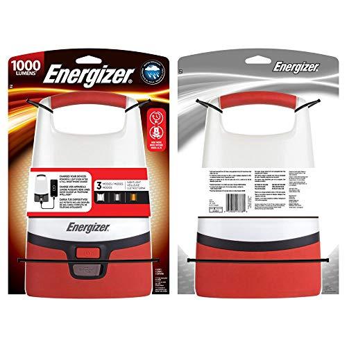 Energizer LED Camping Lantaarn + POWERBANK-1000 Lumen, Rood