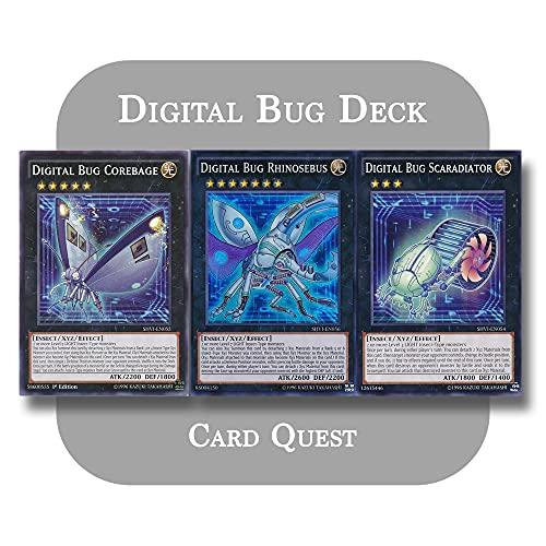 Yu-Gi-Oh! - Complete Digital Bug Xyz Deck