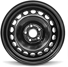 Road Ready Car Wheel For 2017-2018 Chevrolet Sonic 15 Inch 5 Lug Black Steel Rim Fits R15 Tire - Exact OEM Replacement - Full-Size Spare