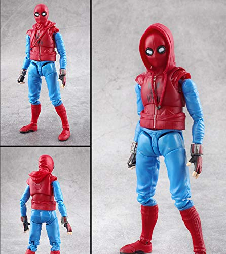 Marvel Spider-Man: Homecoming SHF Super Hero DIY Clothes Spider-Man Kids 'Play Figuras De Acción 16CM