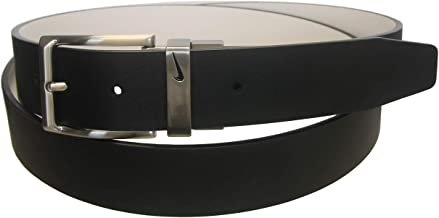 Nike Golf Men's Loop Cutout Reversible Leather Belt, SIzes 46