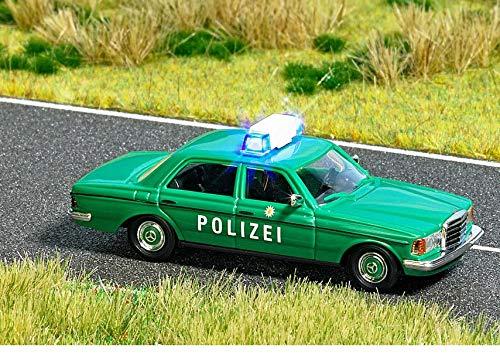 Busch 5593 Mercedes W123 Polizei beleuchtet