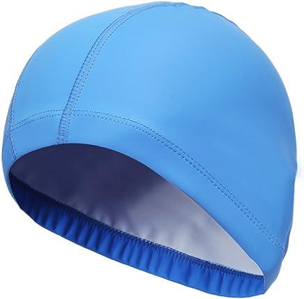 Tinta unita Coco cuffia impermeabile nuoto cappello falte Libera piccolo fiori Nuoto per adulti uomini donne cuffia da nuoto in silicone ultra alta qualità