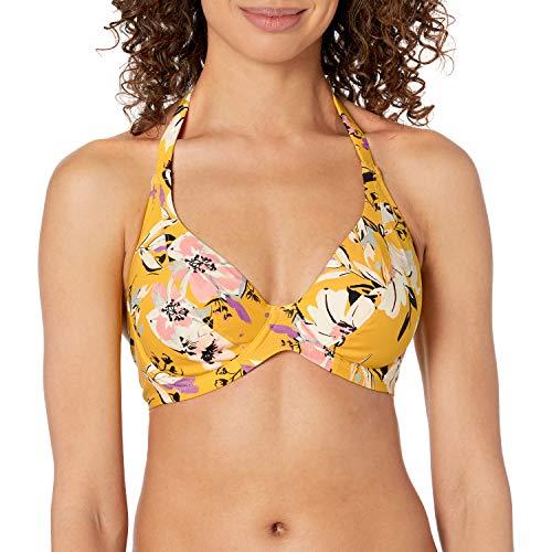 Fantasie Damen Florida Keys Underwire Halter Plunge Bikini Top Bikinioberteil, Nectar, 75DD