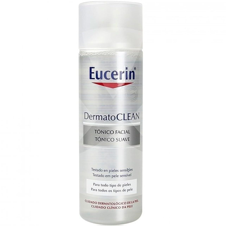 鈍いアジア強打Eucerin Dermatoclean Tonico Facial 200Ml