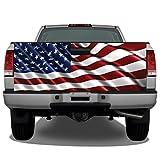 Waving American Flag #3 Truck Tailgate Wrap Vinyl...