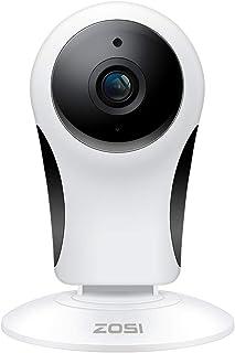كاميرا ZOSI 1080P لاسلكية للأمان المنزلي، 2. كاميرا IP بالداخل فقط مع رؤية ليلية 10.05 متر للمنزل/المكتب، الرضيع/الكبير/ال...