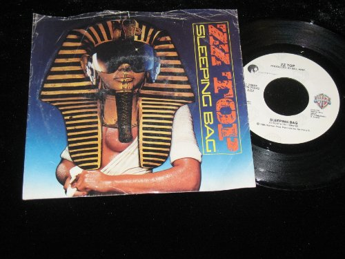 ZZ Top, Party on the Patio / Sleeping Bag - 45 Rpm Vinyl LP Record