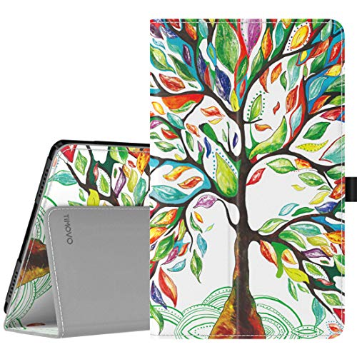 TiMOVO Case for Samsung Galaxy Tab A 8.0 2019 (T290/T295),Premium Slim Folding PU Leather Shell Stand Cover Case for Galaxy Tab A 8.0 2019 Tablet,Not Fit Galaxy Tab A 8.0 2017/2018 - Lucky Tree