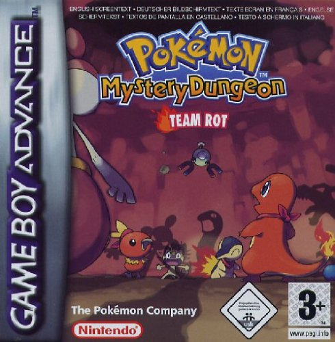 Pokémon Mystery Dungeon: Team Rot