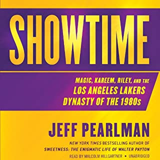 Showtime audiobook cover art