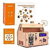 OSOYOO Smart Home IoT - Kit de aprendizaje para Arduino MEGA2560, automatización del hogar STEM Educational Set | Aprendizaje Internet de las cosas, How to Code,Mecánico Building for Adults Kids Teens