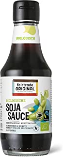 200 ml Bio Soja Soße von Fairtrade Original | Sojasauce | G