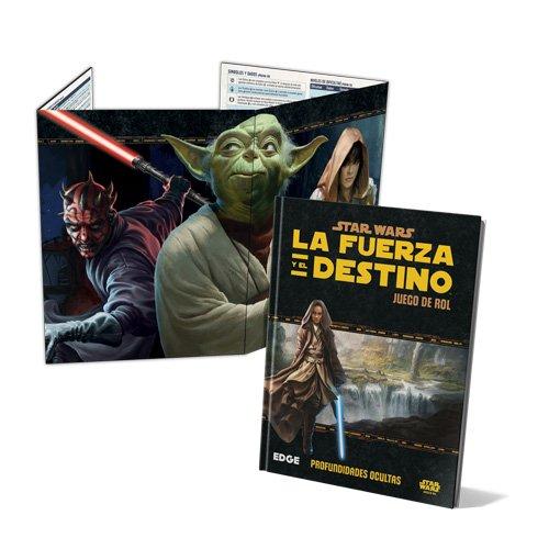 Fantasy Flight Games- Star Wars: La Fuerza y el Destino Pantalla del DJ - Español, Color (FFSWF03)