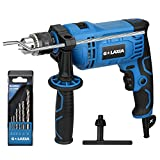 Impact Drill, G LAXIA 910W 1/2-inch Keyed 0-2800RPM Variable Speed Corded Drill