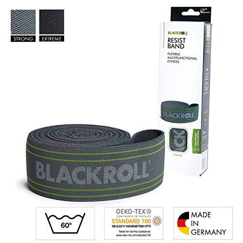 BLACKROLL RESIST BAND - grey - Fitnessband. Trainingsband für das moderne Athletiktrainig mit starker Dehnbarkeit in grau
