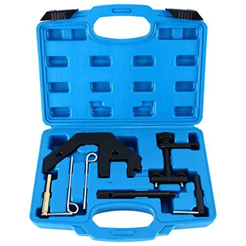 FreeTec Motor Einstell Werkzeug Diesel Motor Einstell Satz Steuerkette wechseln Spezialwerkzeug für BMW E38 E60 E83 E87 M47 M50 M52 M57