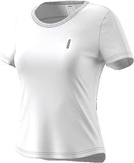 adidas Women's W BRILLIANT BASICS T-Shirt, White, Medium, 12-14