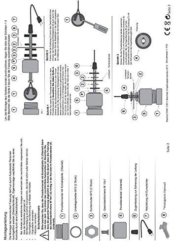 Keramikfassung -/ Porzellanfassung mit Winkelgelenk 180° schwenkbar Inkl. Zuleitung mit Schalter - 6