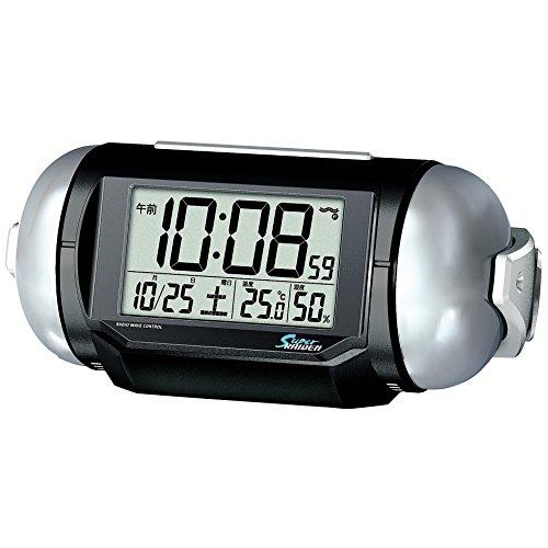 SEIKO CLOCK(セイコークロック)『PYXIS RAIDEN デジタル置き時計(NR523K)』