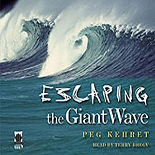 Escaping the Giant Wave audiobook cover art