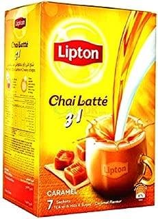 Lipton Chai Latte 3 in 1 - Caramel, 25.8g  (7 Sachets)