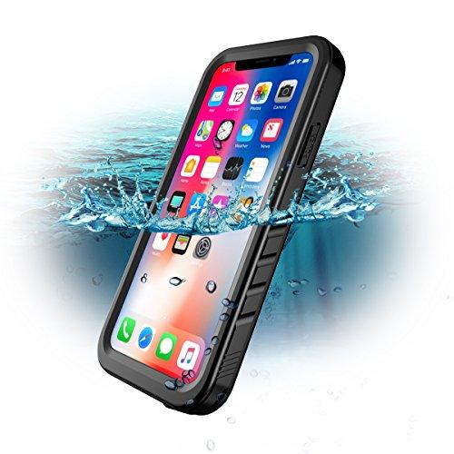 SPORTLINK Coque Étanche pour iPhone X, iPhone XS Waterproof Case,...