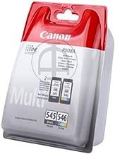 Canon Pixma MG 2900 Series (pg-545 cl 546/8287 B 005) - 2 x cabezal multi - original paquete (negro, cian, magenta, amarillo) - 180 páginas