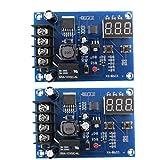 Ohomr Carga de la batería módulo de Placa XH-M603 12-24 Interruptor de Control de Carga de tensión Protectora de Ajuste 2pcs