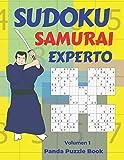 Sudoku Samurai Experto - Volumen 1: Juegos De Lógica Para Adultos