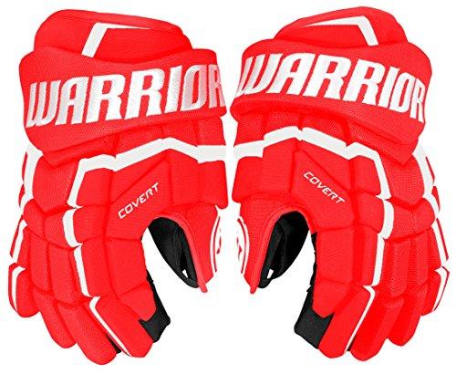 Warrior Covert QRL4 Handschuhe Junior, Größe:11 Zoll, Farbe:rot/Weiss