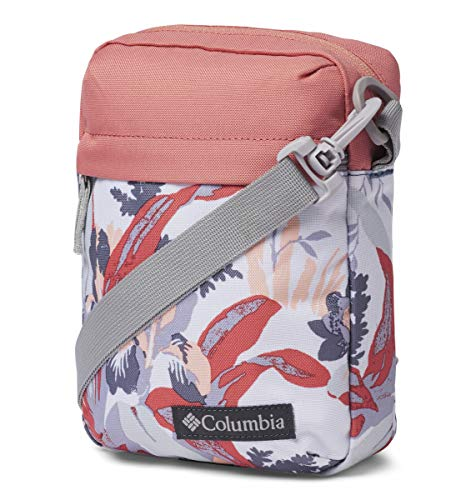 Columbia Unisex Urban Uplift Side Bag, New Moon Magnolia Floral/Cedar Blush, One Size