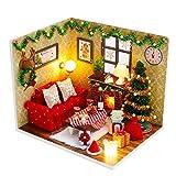 (t-FREAK )ドールハウス 手作りキットセットミニチュア クリスマス イブ