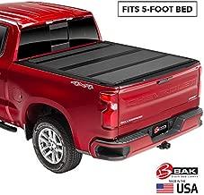 BAK BAKFlip MX4 Hard Folding Truck Bed Tonneau Cover | 448126 | Fits 2015-20 GM Colorado, Canyon 5' Bed,Premium Matte Finish