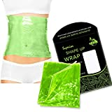 Premium Reusable Shape Up Wrap by EHM - Boost The Effects of Your Herbal Body Applicator - for...