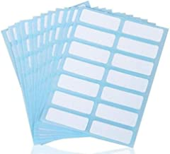 Mini Skater 336 Packs Name Label Stickers White Rectangle Self Adhesive File Folders Labels for Filing Envelops Tags Essential Oil Baby Bottle Cup Kitchen Office School 0.5 x 1.5 Inch