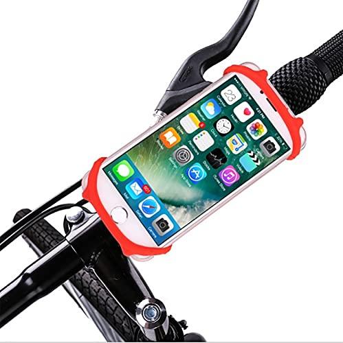 Soporte creativo para teléfono móvil para motocicleta, soporte de silicona para navegación...