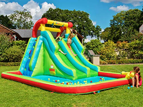 BeBop?Neptune Towers Inflatable Water Slide Bouncy Castle