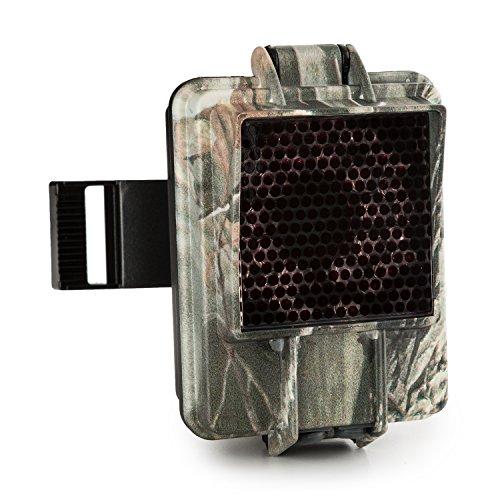 Duramaxx CTV-IR Booster - Infrarot-Blitzgerät, Zubehör für Wildkamera Grizzly, langlebige IR-LEDs, 360° Kugelgelek, Kunststoffgehäuse, wetterfest, robust, Camouflage