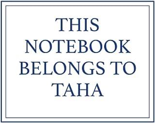 This Notebook Belongs to Taha