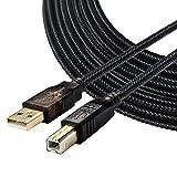 USB 2.0-Druckerkabel,USB 2.0 Kabel - Typ A-Stecker an Typ B-Stecker (7.5m)