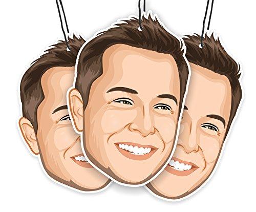 Elon's Musk Air Freshener (3-pack)