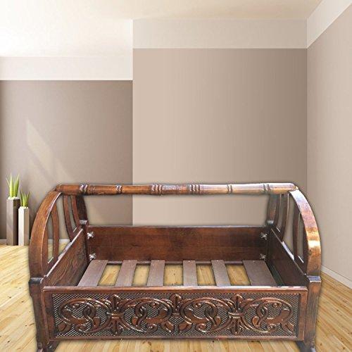Spirit of 76handgefertigt personalisierten Antik Holz Baby Wiege, Baby Stubenwagen, Krippe, Holz Wiege, Baby Schlafsack Kinderbett